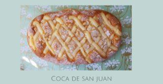 Coca de San Juan receta tradicional catalana
