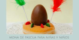 Mona de Pascua casera para niñas y niños