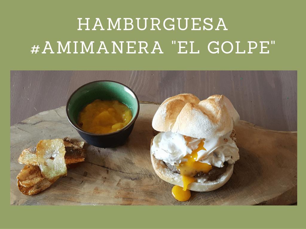 Hamburguesa casera #amimanera