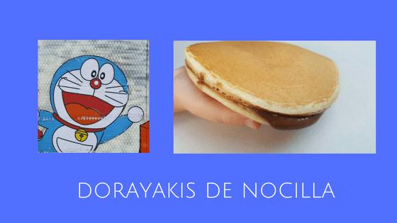 Dorayakis de Nocilla
