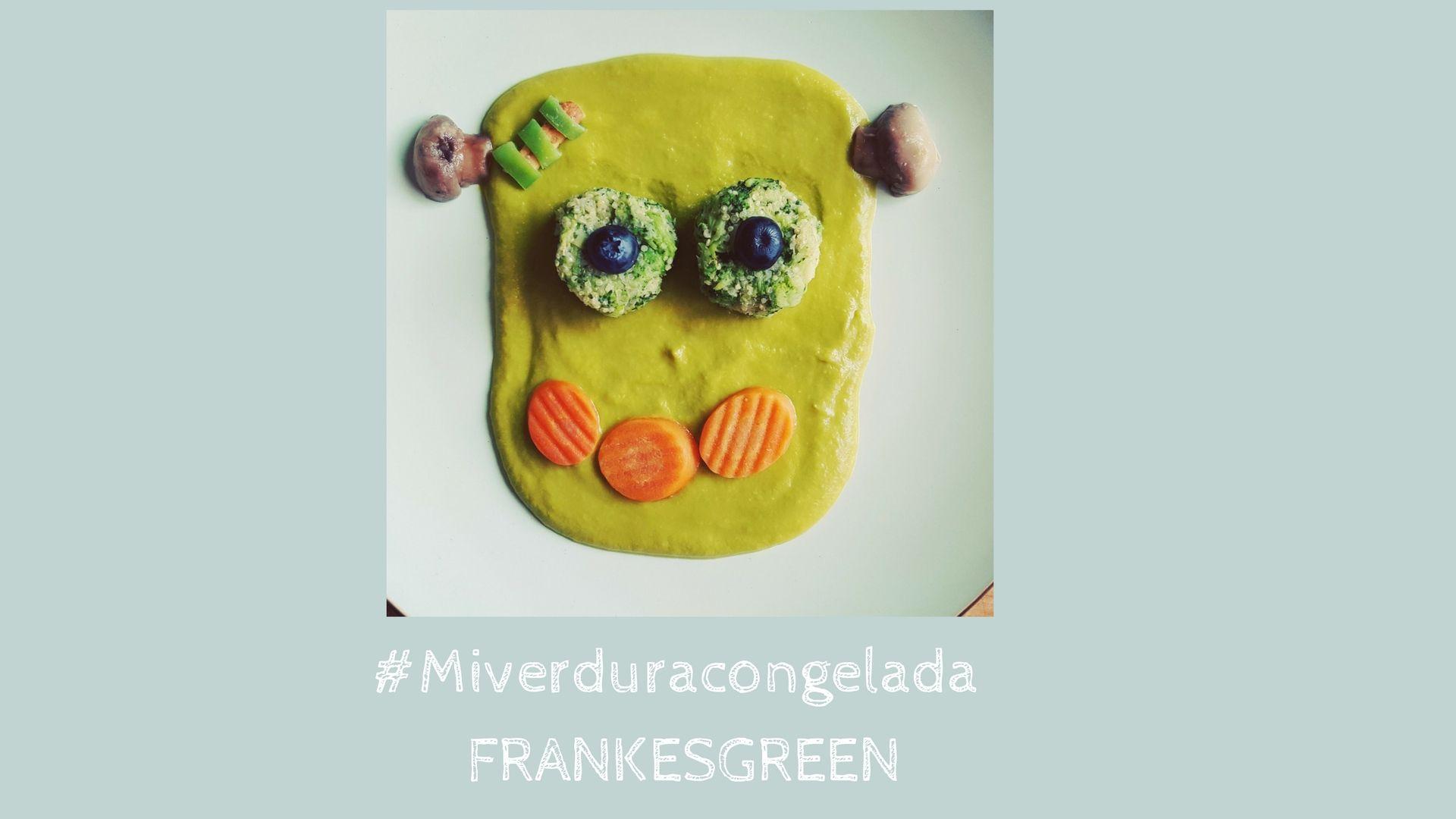 Frankesgreen / Receta de verduras, divertida para niños