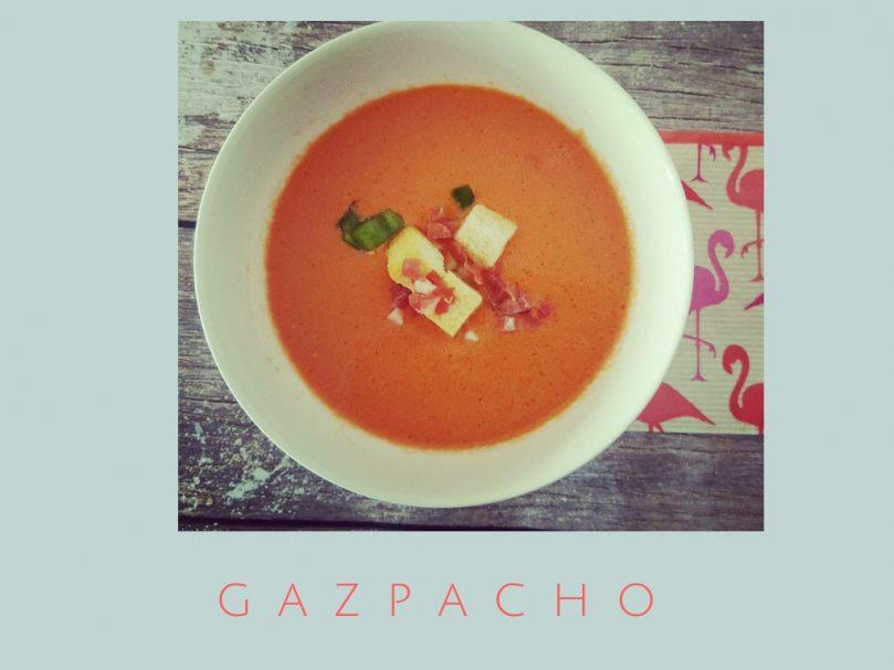Receta fácil de Gazpacho