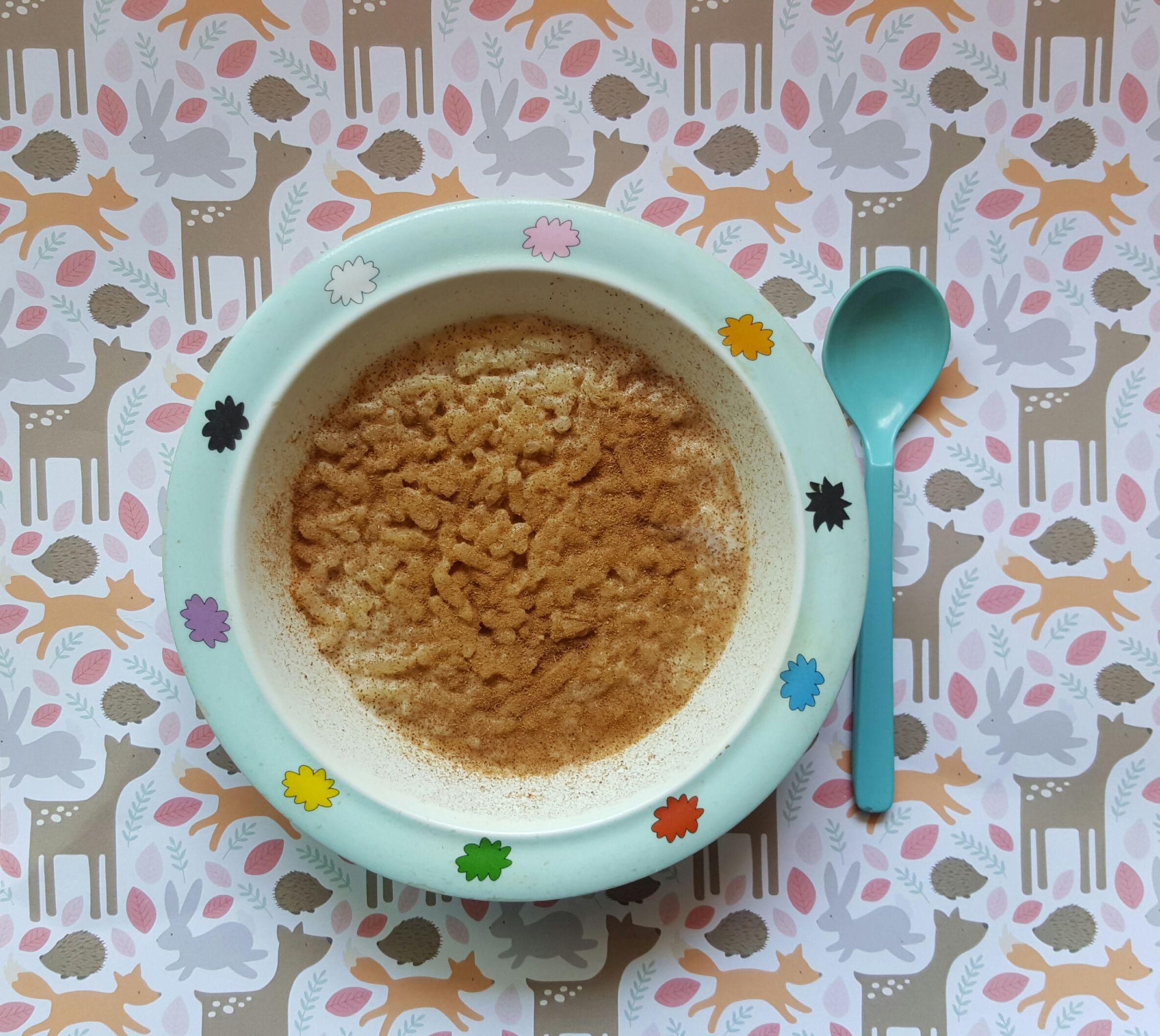 arroz con leche receta para niños