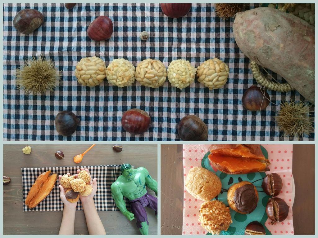 Panellets / Receta tradicional catalana / Preparar Panellets con niños