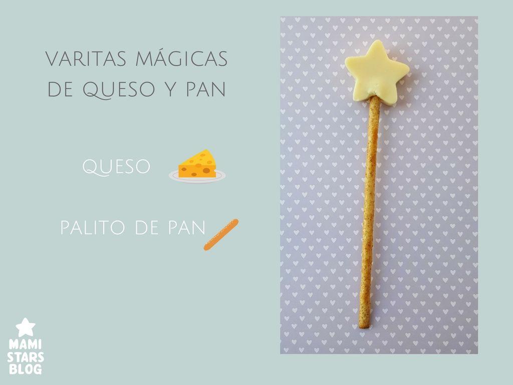 Varitas mágicas queso / Receta fácil y divertida para niños