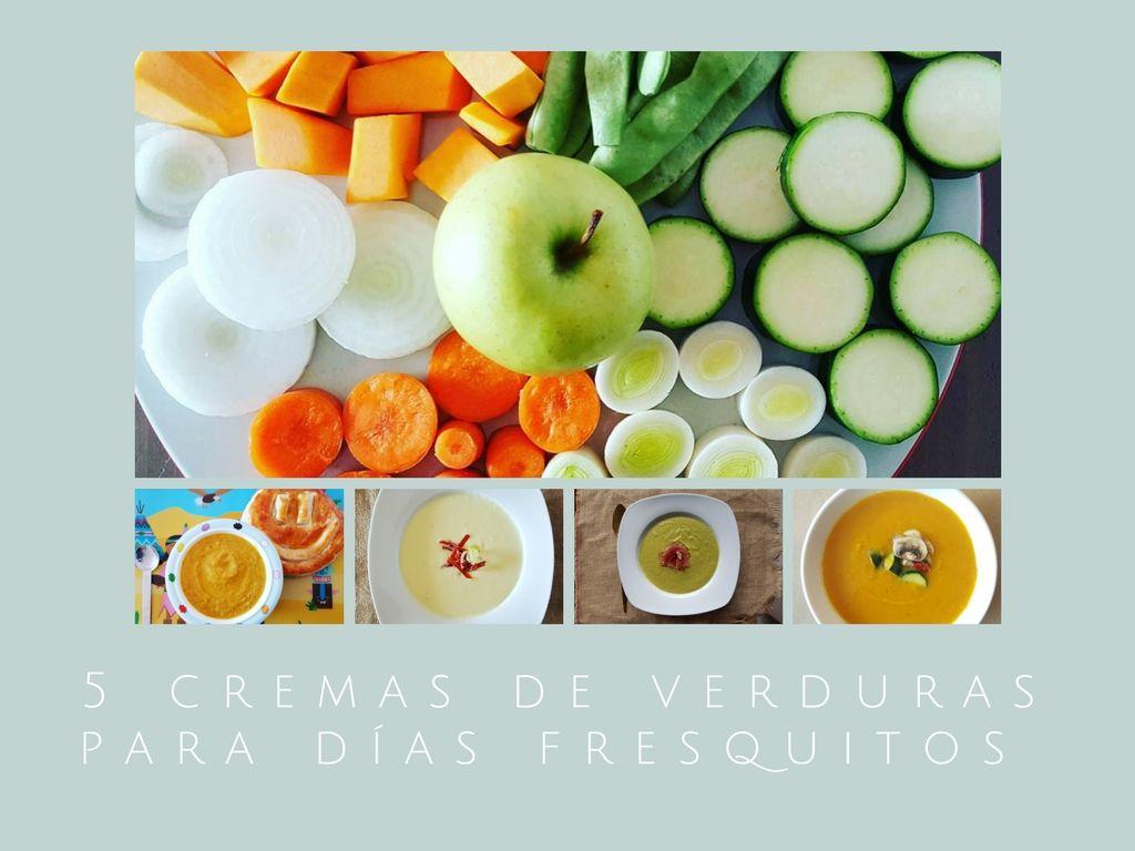5 cremas de verduras para días fresquitos