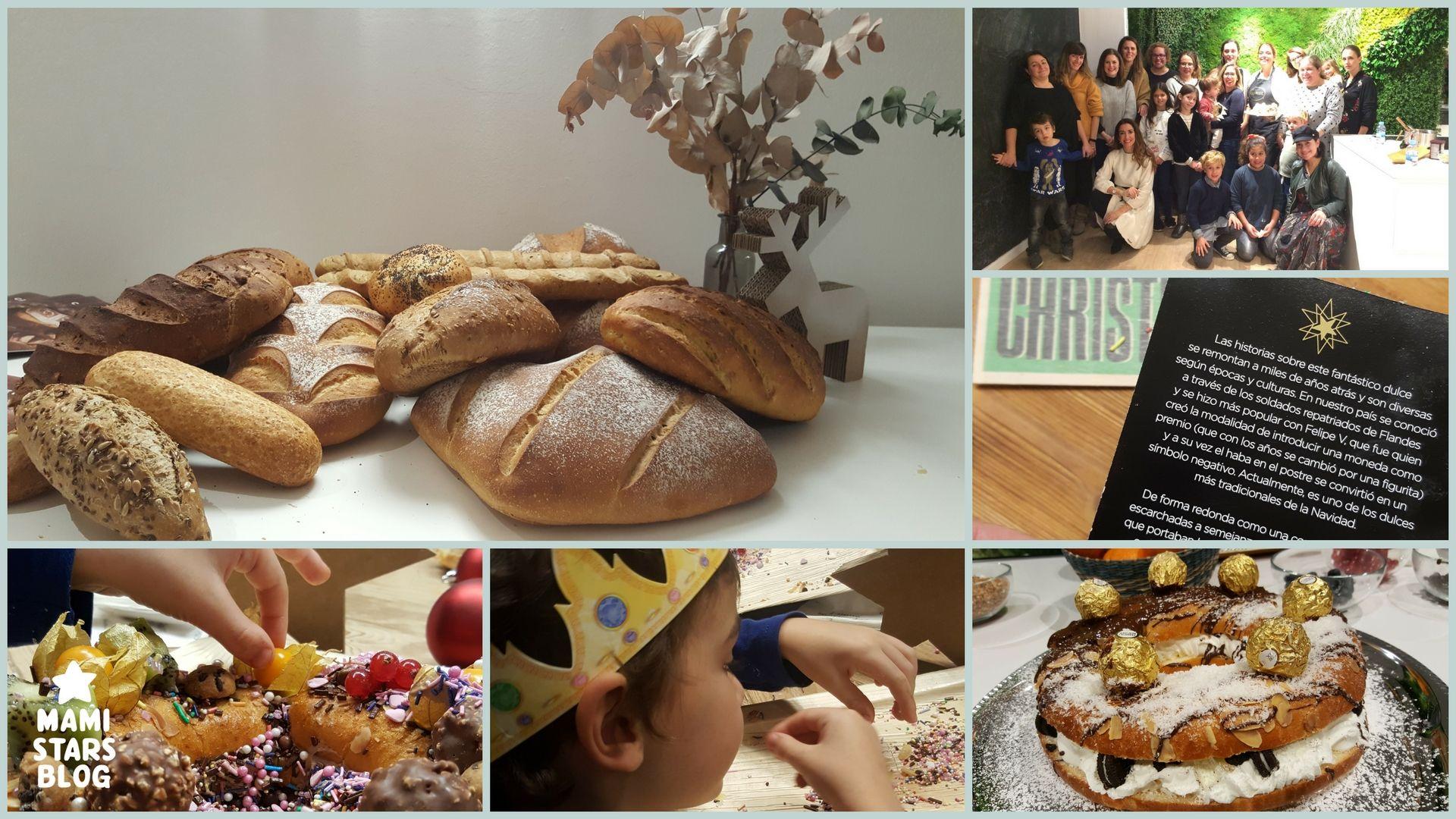 Taller de roscón de reyes Granier/Cocinar con niños