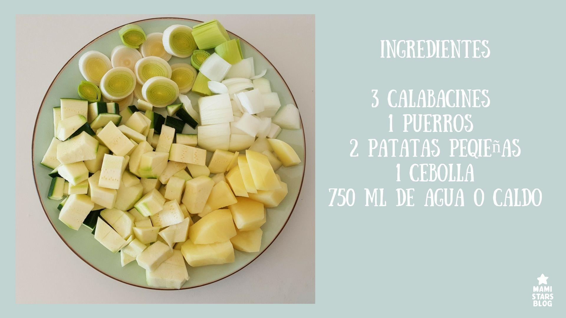 crema de calabacín / Receta fácil