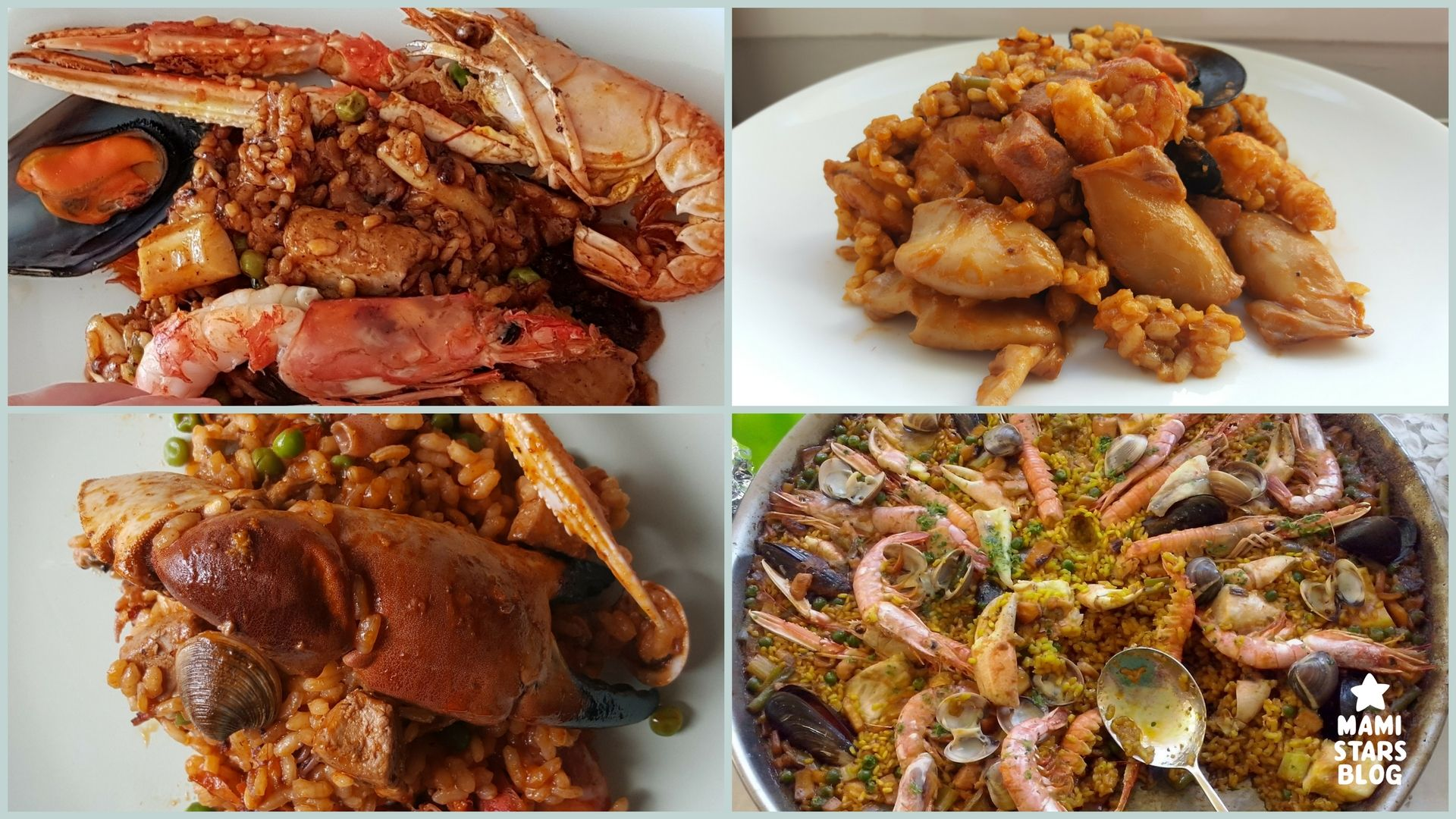 Paella de pescado y marisco /·Receta fácil