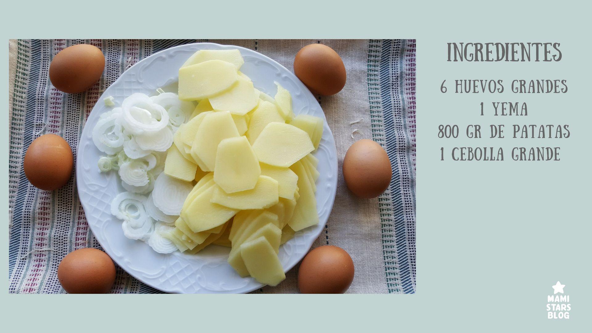 Tortilla de patatas / Receta fácil y tradicional