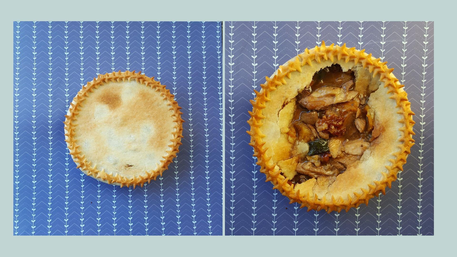 pastel de pavo y verduras con nueces de california (1)