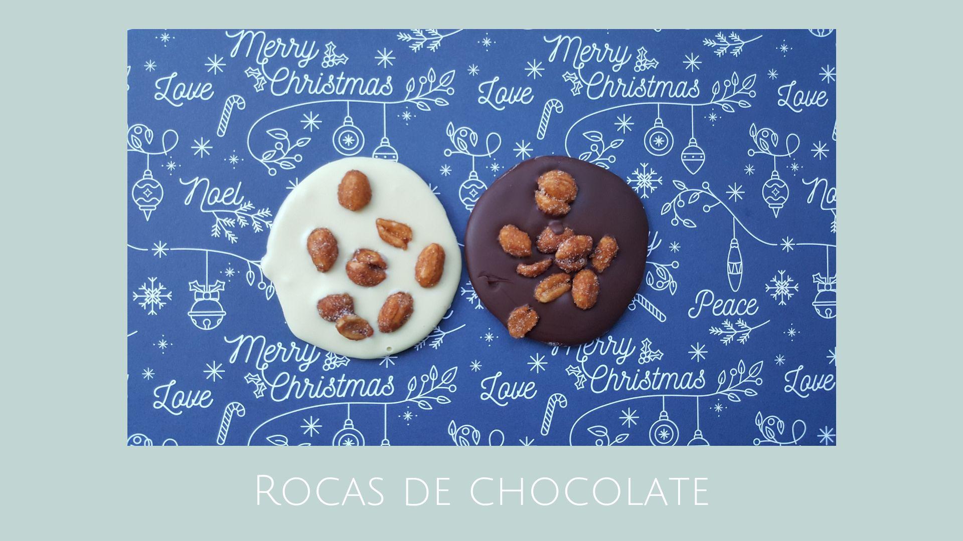 Rocas de chocolate / Receta fácil para preparar con niños