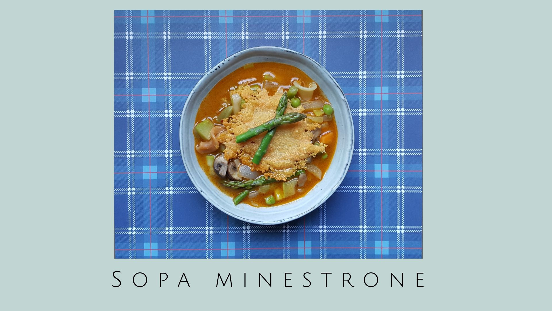 Sopa Minetsrone Receta fácil