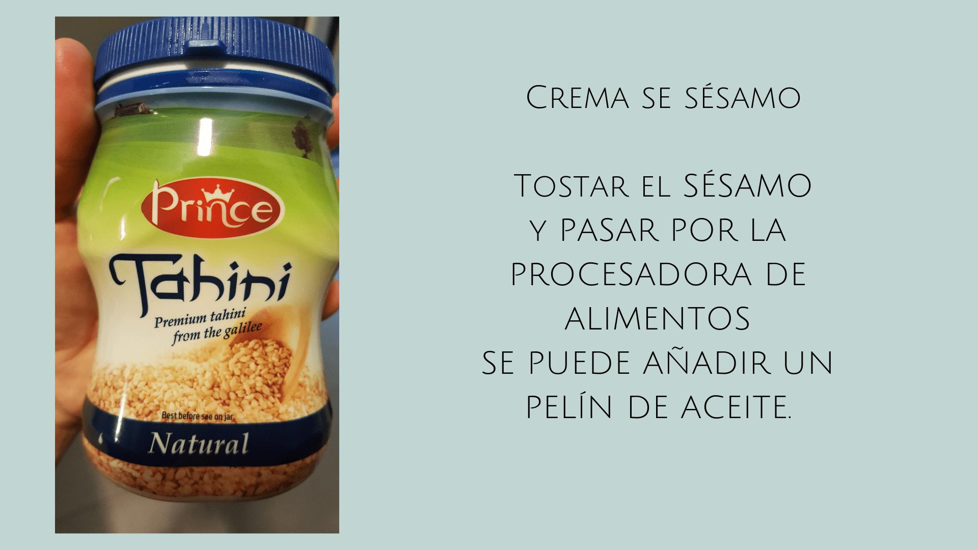 RECETA FÁCIL HUMMUS