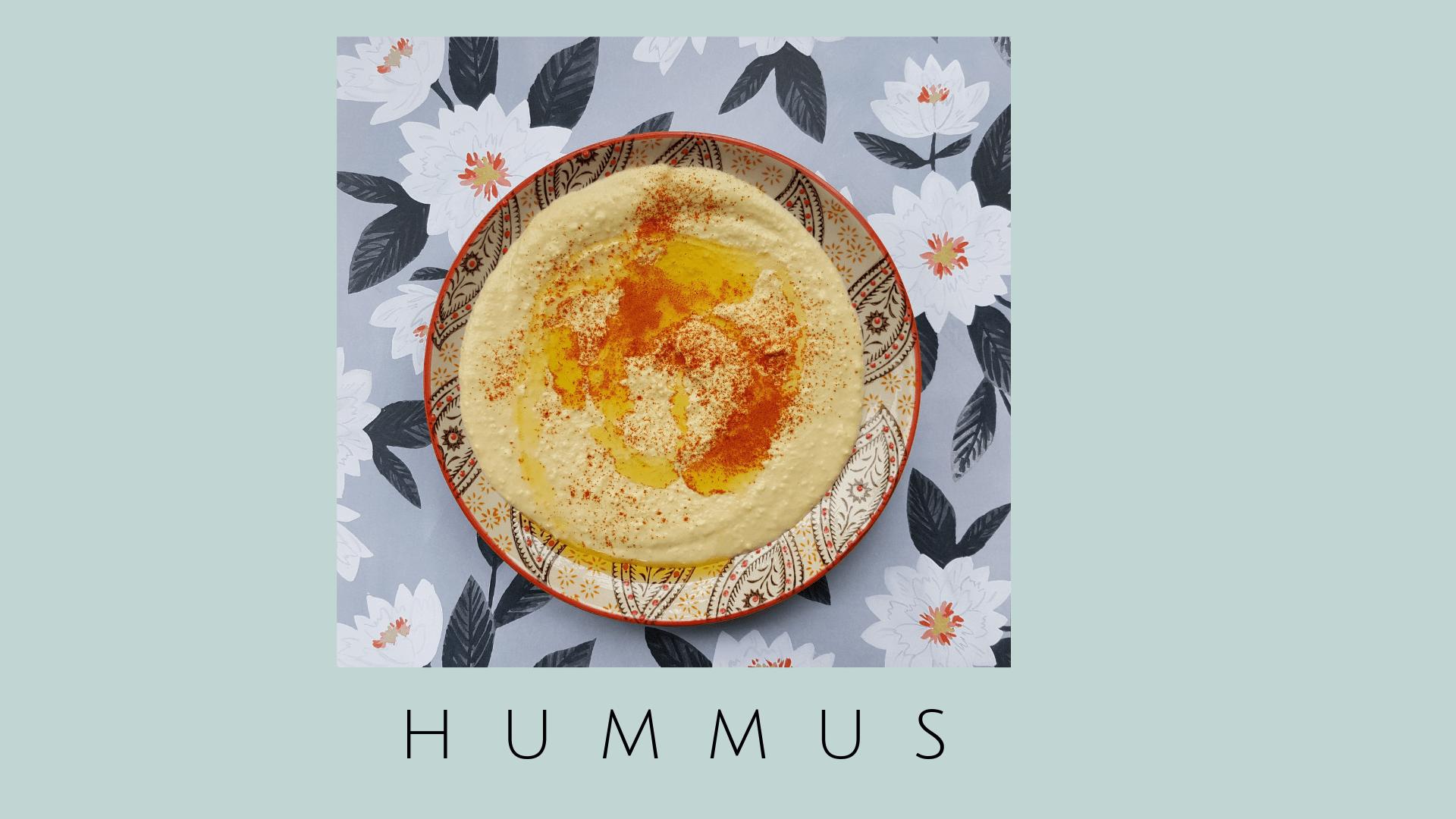 Hummus Receta fácil