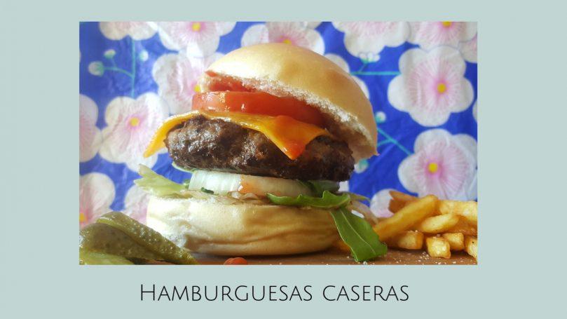 Receta de hamburguesas caseras