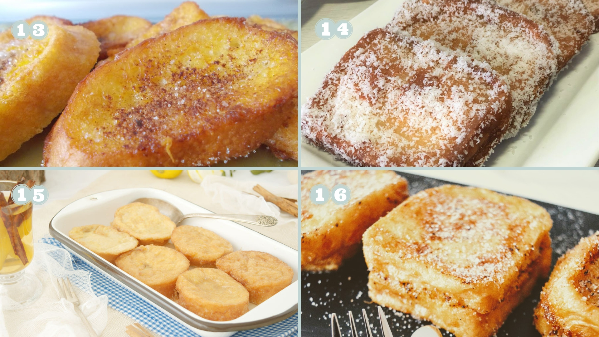 Las mejores recetas de torrijas caseras