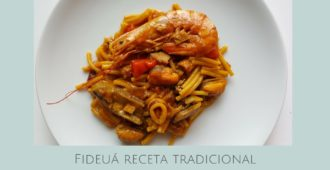 Fideuá receta tradicional