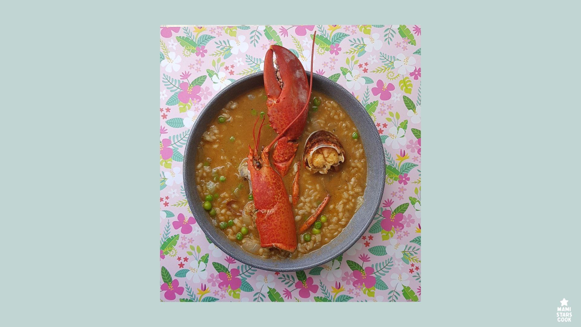 Como preparar arroz caldoso de bogavante