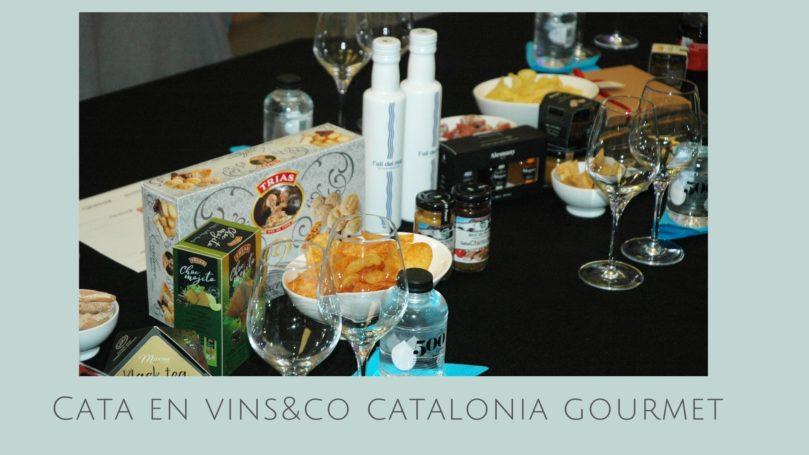 Cata en Vins&Co Catalonia Gourmet