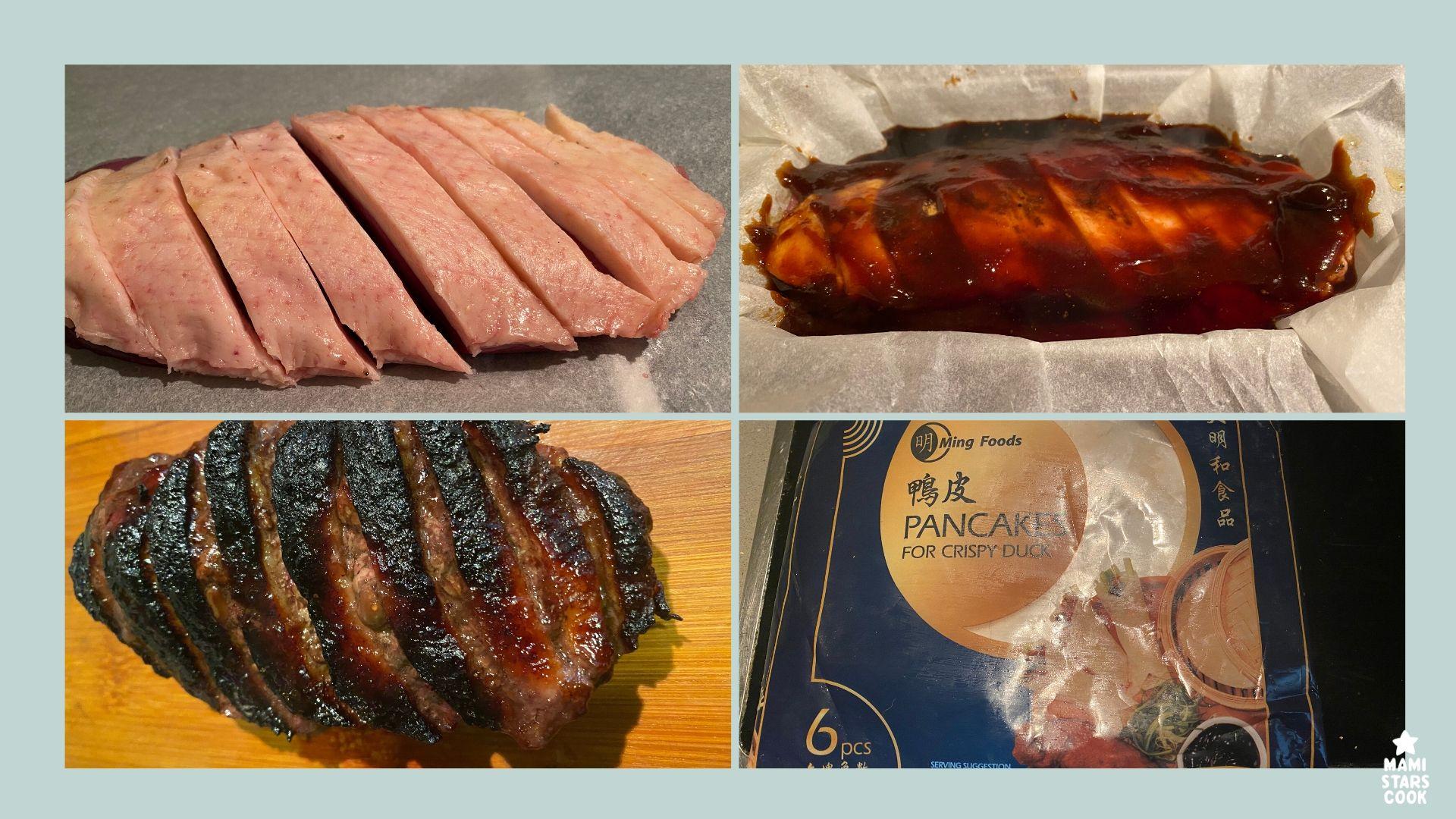 Receta tradicional china Pato Pekín