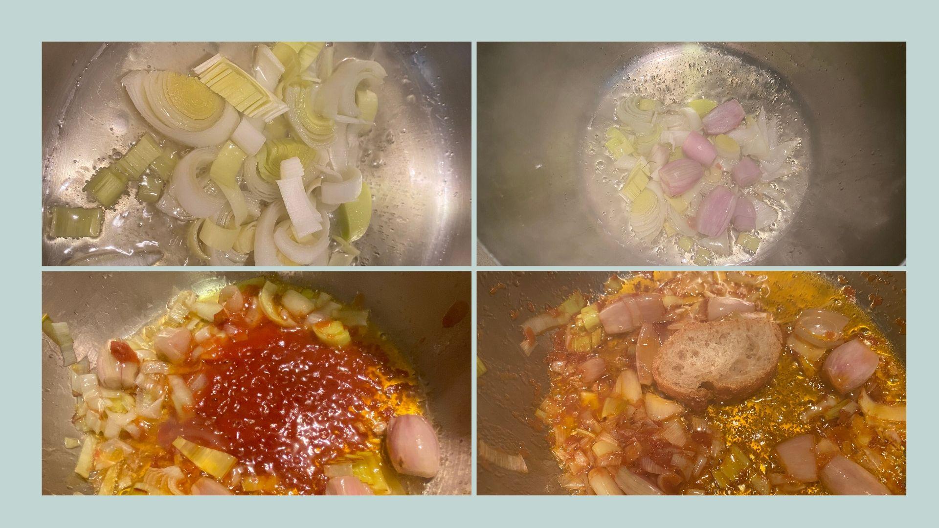 receta crema de gambas