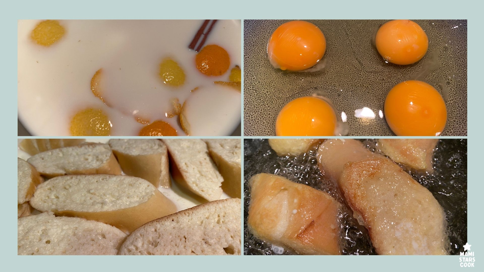 Receta de torrijas tradicionales